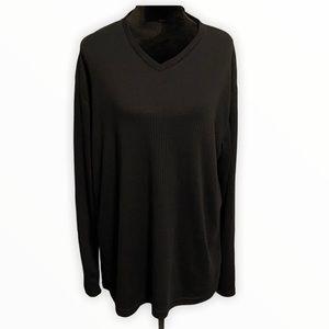 Claiborne Sweater Black size large